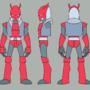 Character 1 model sheet