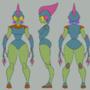 Character 3 model sheet