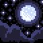8bit Starry night