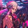 An Average Cyberpunk Saturday commission