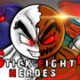 Poster of My upcoming animation .. STICK FIGHT HEROES 4.