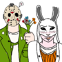 Jason Voorhees And Anna The Huntress