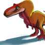 Smiley, the shaggy little dino
