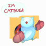 A Cat who is also a Bug