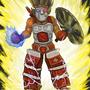 Super Saiyan Jonny by AwesomeSaurus