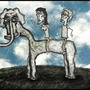 Sarah;s Elephant by jackthetrippr
