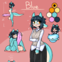 Character Reference: Blue