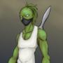 alien guy casual
