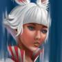 Viera white mage