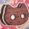 Cookie Cat Sketch Card