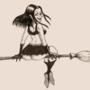 Inktober 2019 Day 2: Booty Witch