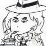 Inktober #2 - Carmen Sandiego