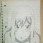 Fan Sketch of Juvia Lockser (Fairy Tail)