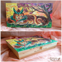 We are bound - Pyrography on wooden box