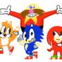 The classic team, Classic sonic