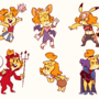 Isabelle Costumes