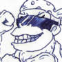 Inktober #5 - Funky Kong