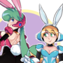 Bunny Suit Marino and Cinnamon