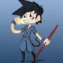 Son Goku (DAC) by TerminalMontage