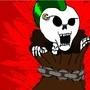 Skull In Sack by MEANDNOONEELSE