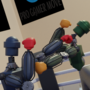 Robot Boxing Toy Arena