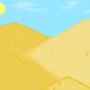 Inktober #8 Dunes