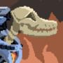 monstober day 17: skeleton