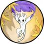 Ori floating on Kuro's feather