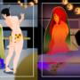 Starfire x Robin Halloween Mischief