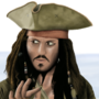 Jack Sparrow by goldendizzler