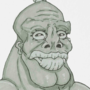Inktober Day 21: Buff Orc-Looking Fella