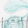 """Ghost"" Inktober 2019"