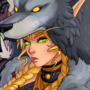 Girl with the worgen pelt