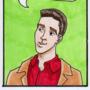 Ross Geller birthday card