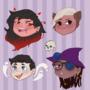 [OPEN] Halloween Chibi Head Commissions