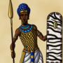 Egyptian Pharaoh in War Gear