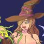 Konosuba Wiz Halloween 2019