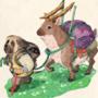 Inktober day 29: the way of travel x mastiff