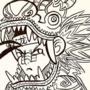 Xiăo Lóng the Dragon Warrior - Inktober