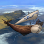 The Harpy, sky sloop