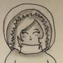 Winter Coat - Inktober #27