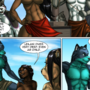 """The Depths"" web-comic - Page 46"