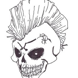 Punk Rock Skull By Rafesta On Newgrounds