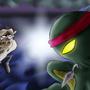 Beardyman vs Ninja Octopus