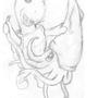 Turtle vs Squid by Inztinx