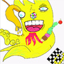 Its a yello Squid or something by Showgun