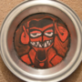 Devil Pie Tin Painting