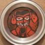 Devil Pie Tin Painting