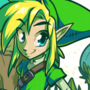 Link in the Forest of Omens