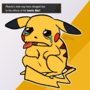 Pikachu learned Depression!